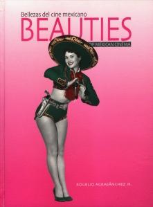 Portada del libro 'Bellezas del cine mexicano': Ana Bertha Lepe en un traje de inspiración charra, diseñado por Julio Chávez para la cinta 'Miradas que matan'.